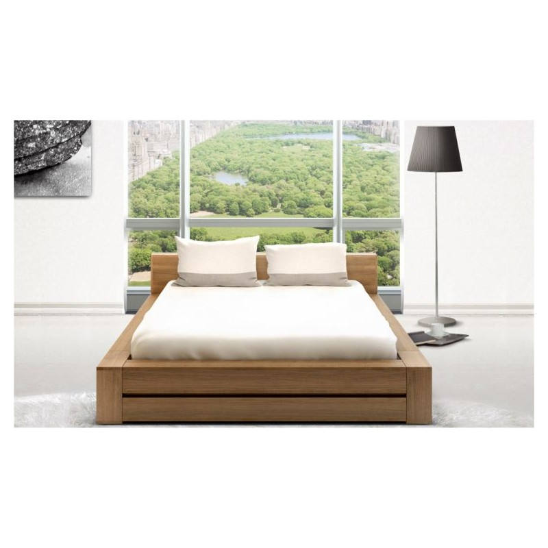 lit zen le japonais. Black Bedroom Furniture Sets. Home Design Ideas
