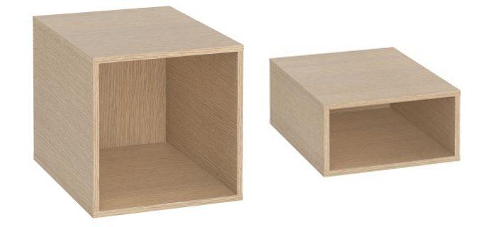 Cubes de rangement pour bibliothèque Anata