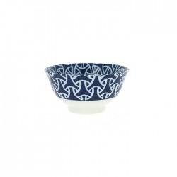 Bols à riz en porcelaine japonaise arabesques