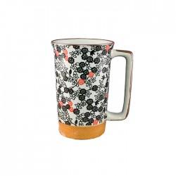 Grand mug fleurs