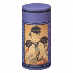 Boite à thé Ukiyoe