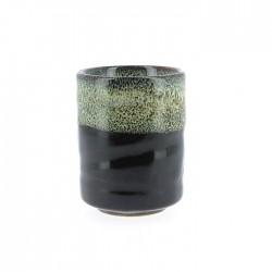 Yunomi vert et noir
