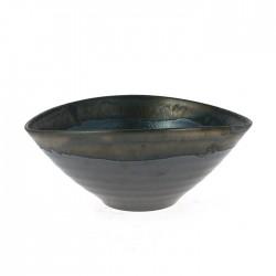 Grand bol noir et gris
