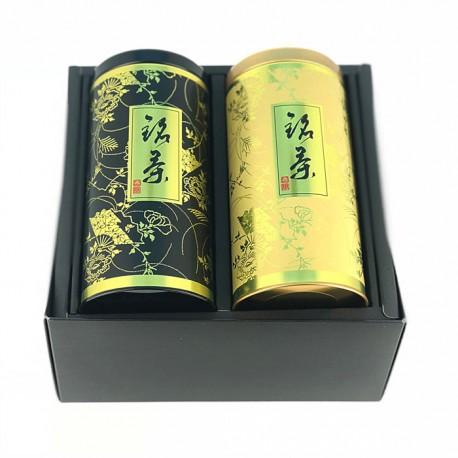 Coffret de 2 boites à thé japonaises Kuro
