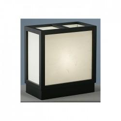 Lampe japonaise sur socle
