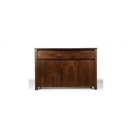 Commode Tsuri 3 tiroirs Wenge