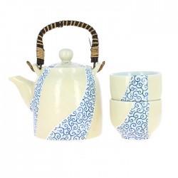 Service à thé japonais Karakusa