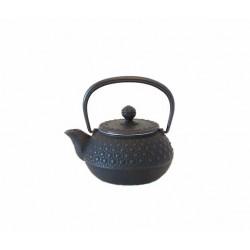 Théière japonaise en fonte Kikko 0,3 litre noire