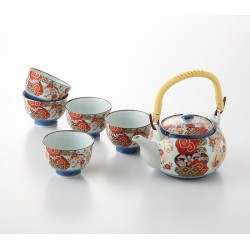 Service à thé japonais en porcelaine