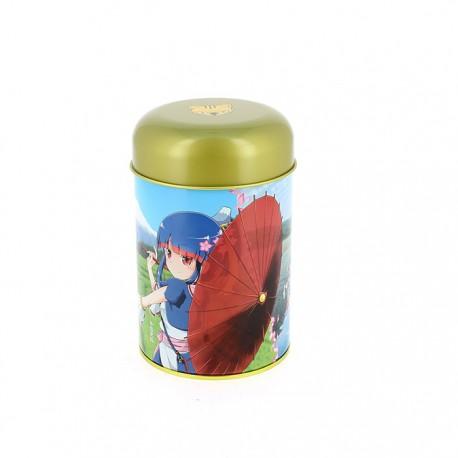 Boite à thé japonaise décor Manga