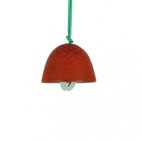 Clochette japonaise Furin rouge