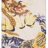 Yukata tigres et dragons blanc