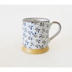 Mug en céramique motifs fleurs