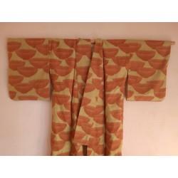Kimono japonais vert
