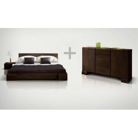 Pack Lt et commode Kobe Wenge