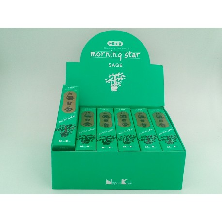 Coffret d'encens Morning star Sauge