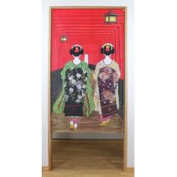 Rideau japonais Noren Inari