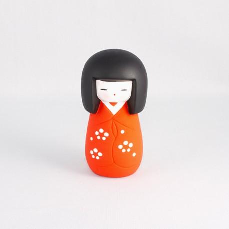 Poupée Kokeshi japonaise en céramique