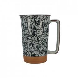 Grand mug graffitis