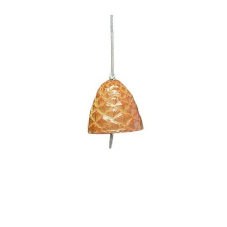 Clochette japonaise Furin en forme de pomme de pin
