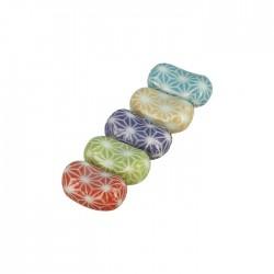 Set de 5 reposes baguettes colorés