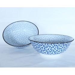Set de 2 bols japonais pour les ramen motifs Kumikiko