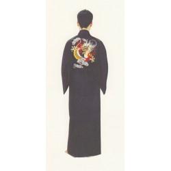 Kimono japonais motif Dragon