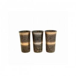 Set de 3 mazagrans en céramique japonaise