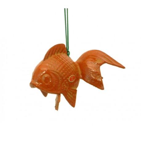 Clochette japonaise Furin poisson rouge