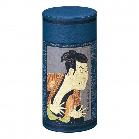 Boite à thé japonaise Kabuki