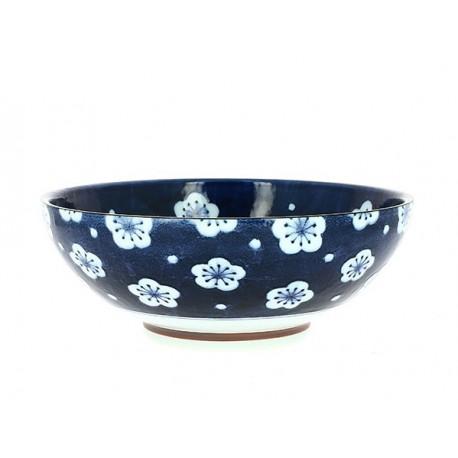 Saladier japonais motifs fleurs