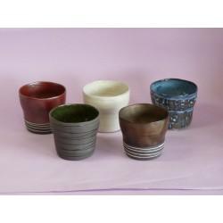 Set 5 tasses en céramique