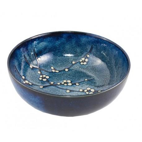 Saladier en céramique japonaise fleurs de cerisier
