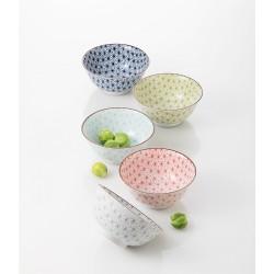 Set de 5 bols japonais Sachiko médium
