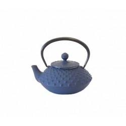 Théière japonaise en fonte Hira Arare 0,3 Litre bleu