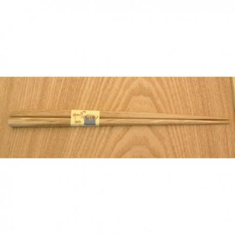 Paire de baguettes naturelles 22.5 cm