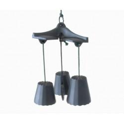 Mobile 3 clochettes à vent
