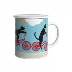 Tisanières Chats et vélo