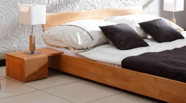 Chevets en option pour le pack de lit Kobe bas naturel