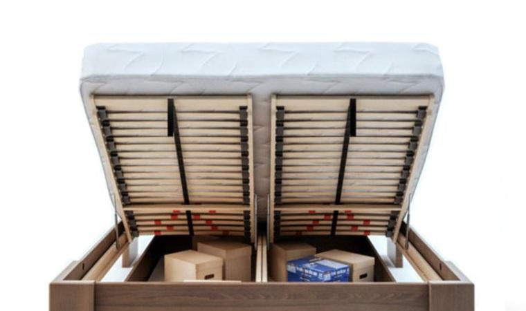 Sommiers relevables pour pack lit shizen bas wenge