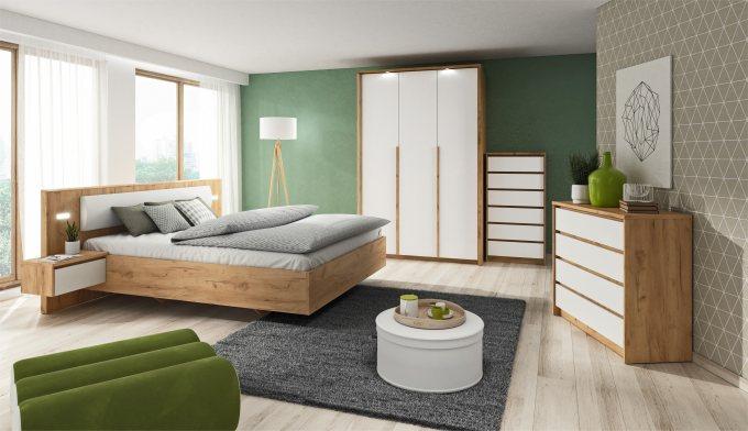 Chambre compléte Kumo avec commodes et armoires